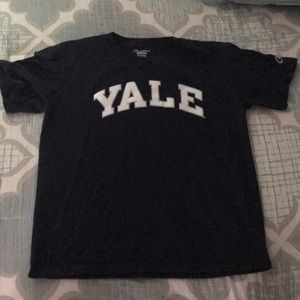 Navy Blue Yale Champion Shirt